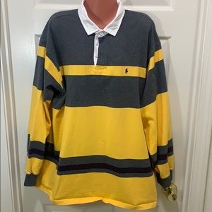 🚨🆕 POLO Ralph Lauren Collared Rugby Shirt